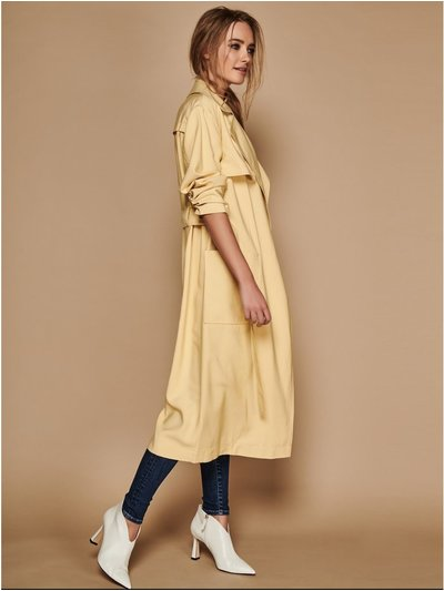 Yellow Duster Coat