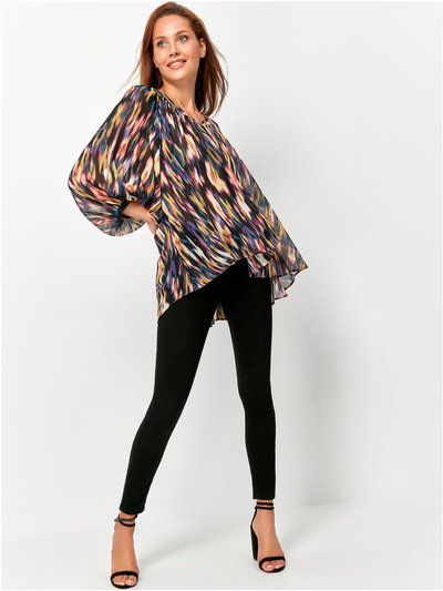 Willow Blurred Floral Blouse
