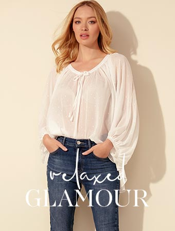 relaxed glamour